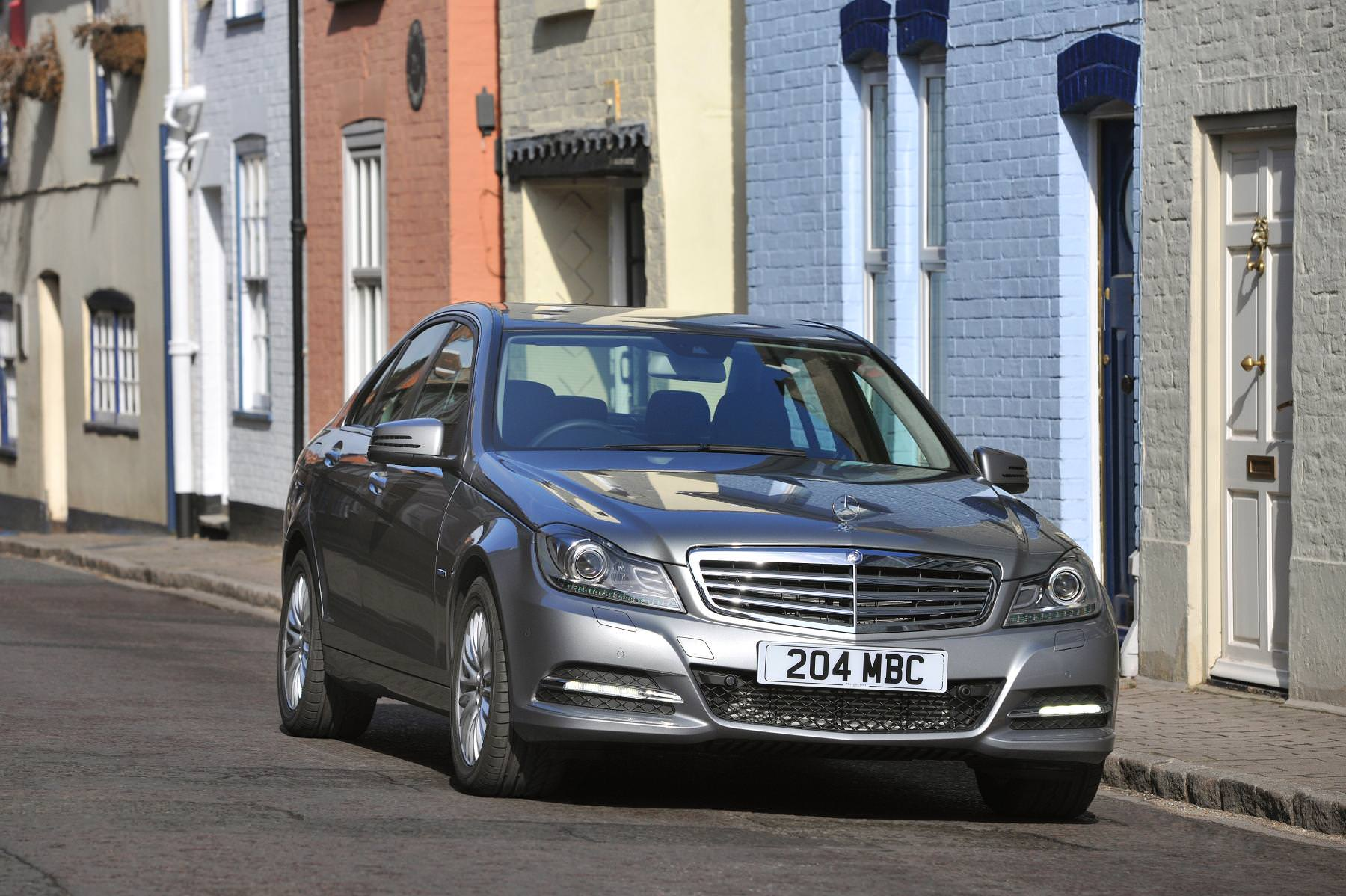 One of the best used family cars for £600 - Mercedes C