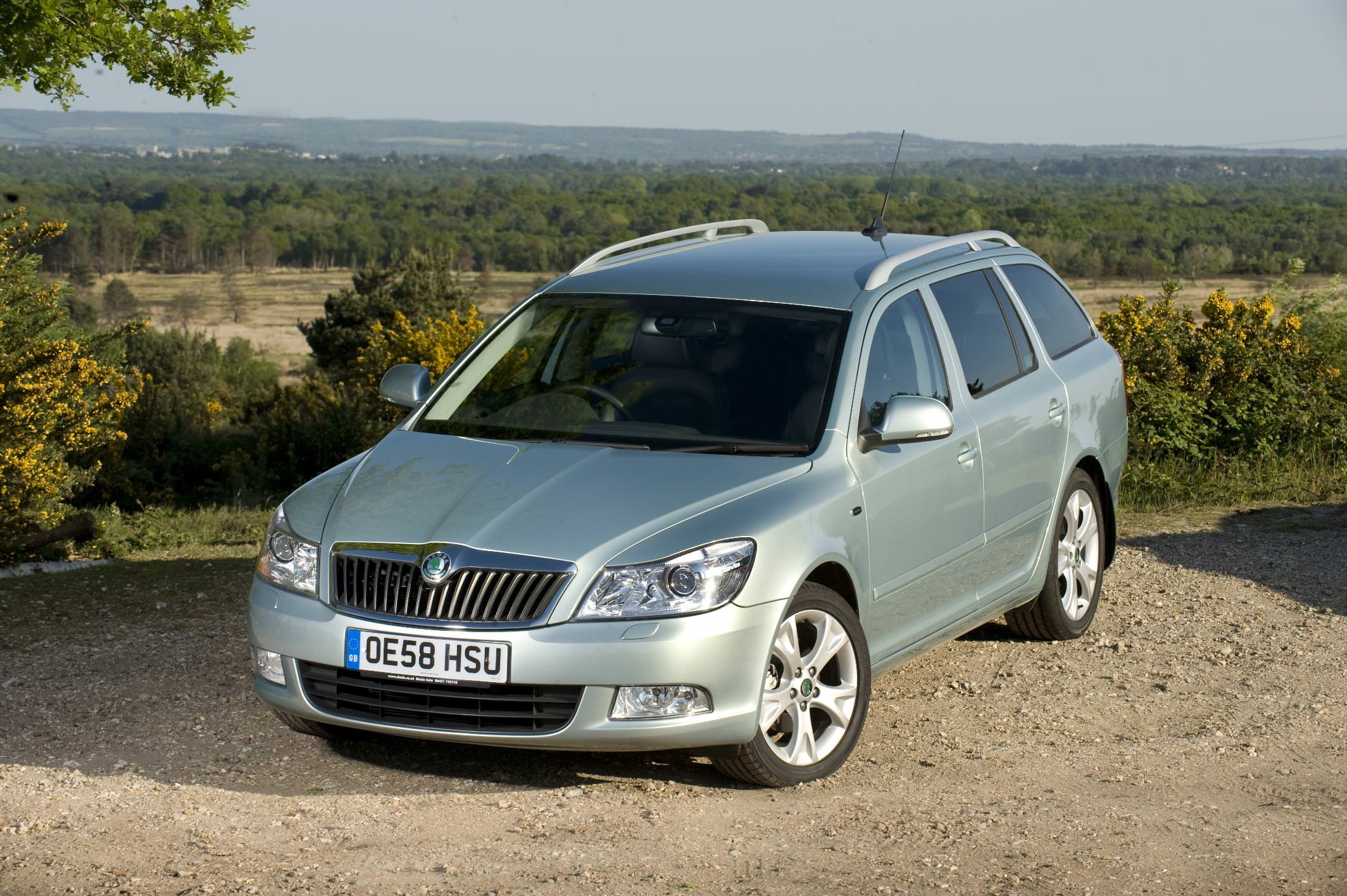 A Skoda Octavia estate, one of the best used family cars for £600
