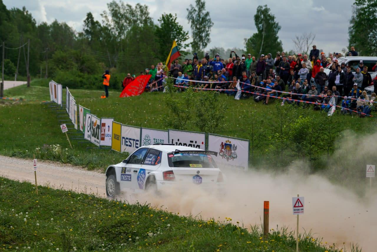 Ingram rally car