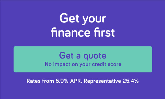 Get your finance first