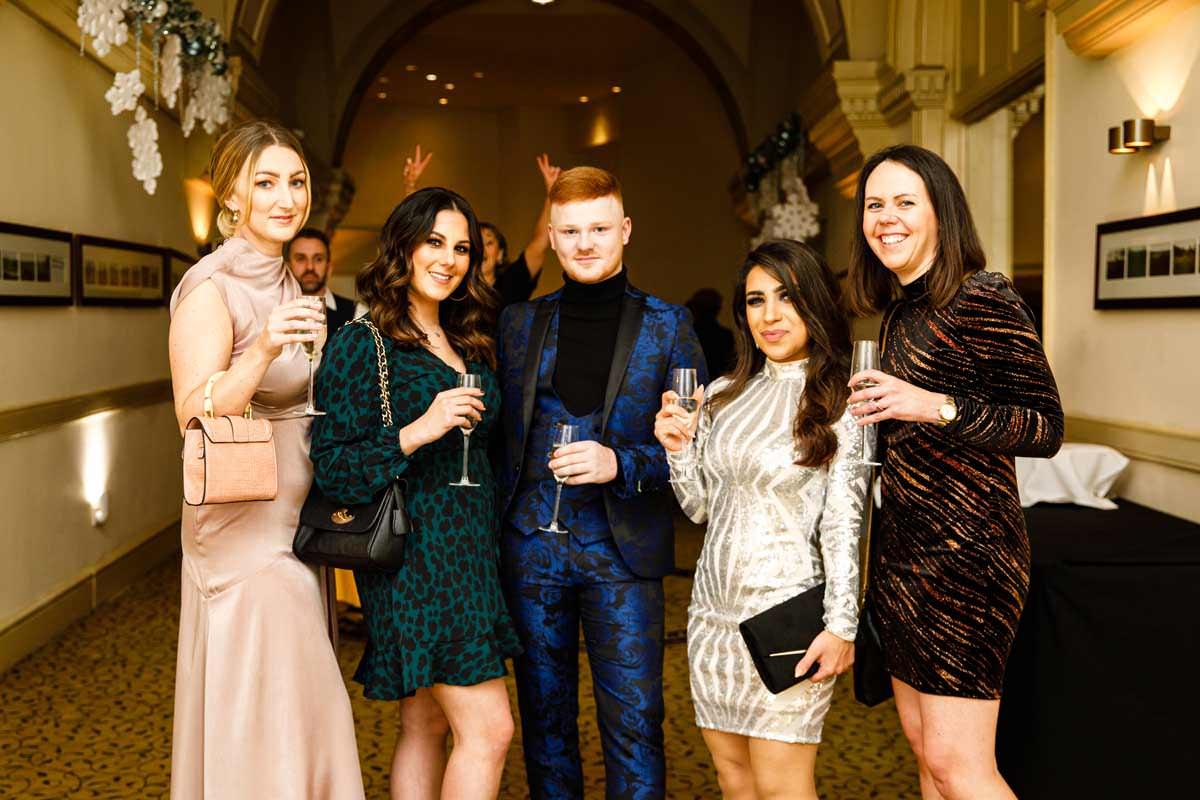 Christmas Awards Evening People Team