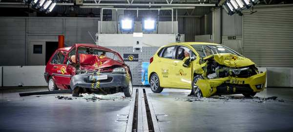 Replacing a 20-year old car with a modern supermini could save your life, say Euro NCAP experts