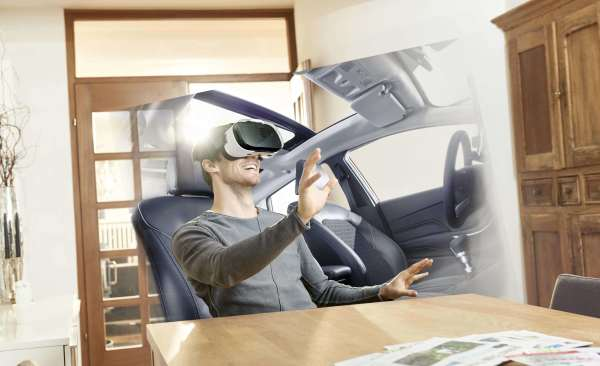 Virtual Reality: the picture of buying a car in the future