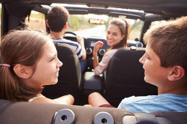 In-car accessories for kids to make car journeys fly by