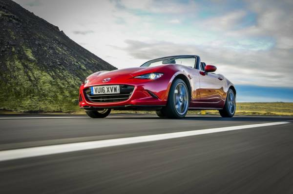 Top five two-seat roadsters