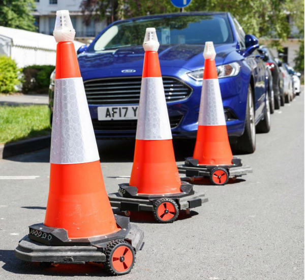 New Robo-Cones Could Help End Traffic Jams At Roadworks