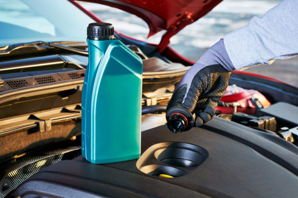 How to check and top up your car's engine oil