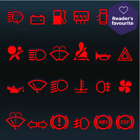 Red light spells danger: guide to the most common red warning lights