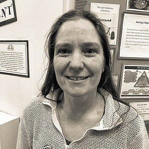 Mrs Vin Parker, BA, QTS