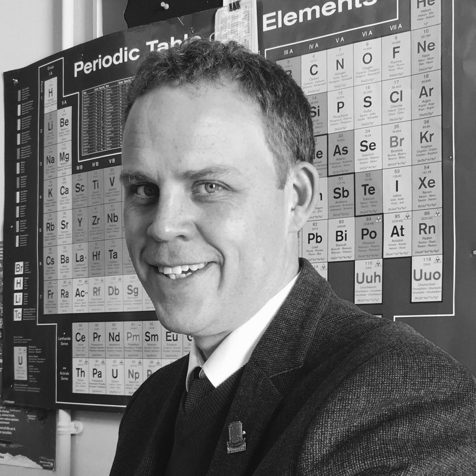Mr Robert Lemmer, BSc, Diploma in Education