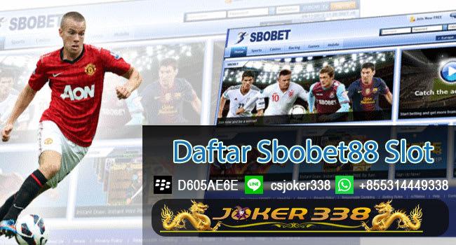 Daftar Sbobet88 Slot