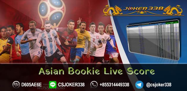 Asian Bookie Live Score