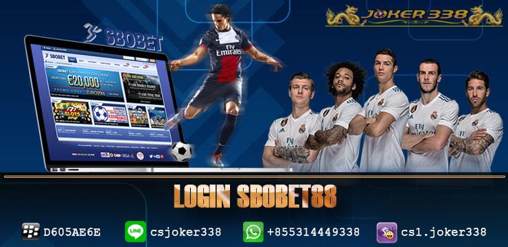 login sbobet88