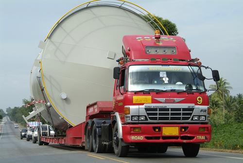 Oversized Tanker