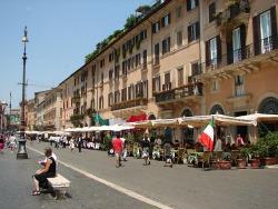 rome piazza