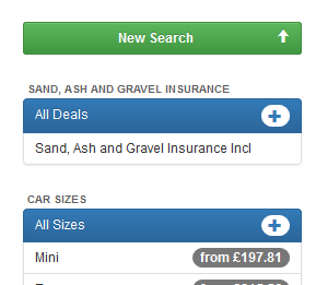 Clarify Sand, Ash and Gravel Filter for Iceland Car Hire