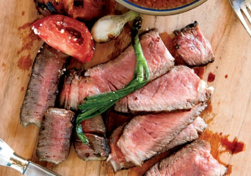 Grilled Texas Ribeye