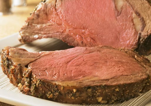 Peppery Beef Rib Roast