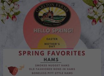 Spring Holiday Favorites