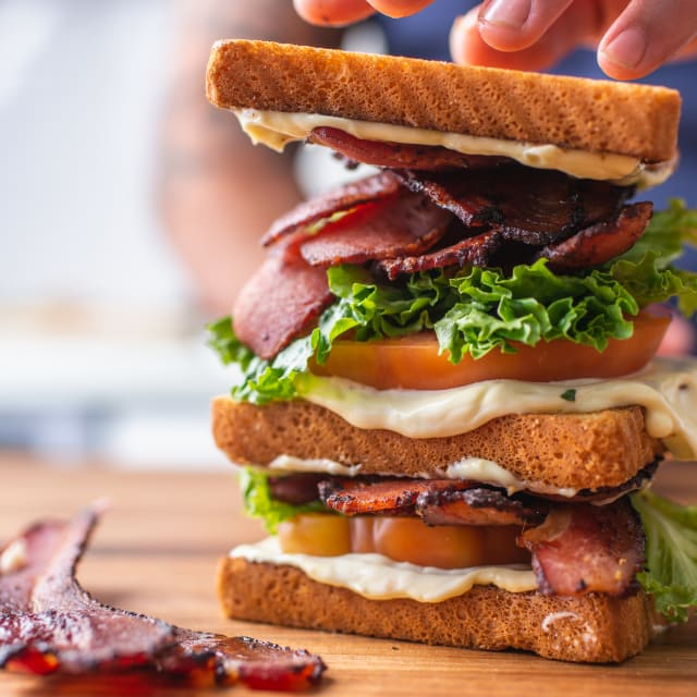 The Carlton Farms BLT w/ Homemade Bacon Mayo