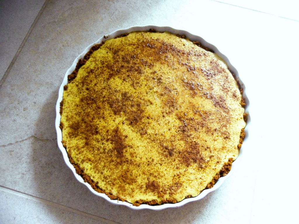 Creamy Banana Custard Vegan Tart Recipe ~ Carob Cherub | This is going to be your next favorite vegan dessert recipe. Creamy Banana Custard Tart is simple to make. It's healthier than other desserts because it's oil free and free of refined sugars. https://www.carobcherub.com/creamy-banana-custard-tart/