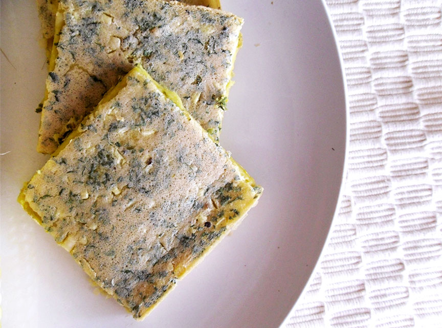 Vegan Gluten Free Flatbread with Parsley recipe. Trying to lose weight? Can't eat gluten? Try this gluten free flatbread on for size. 100% healthy and 100% delicious. Just four ingredients & fewer calories.