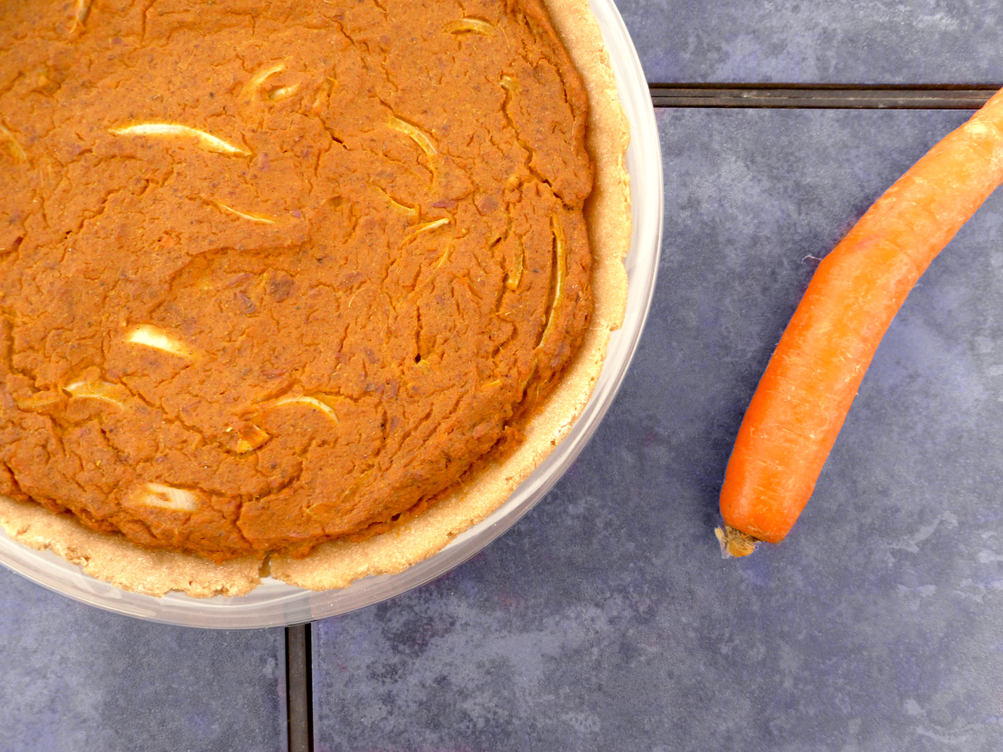 Thankful Onion & Sweet Potato Pie ~ Carob Cherub | You won't be able to stay away from this scrumptious sweet potato pie. Luckily, you won't have to! Because it's low fat, oil free and refined sugar free, you can have as many slices as you want. Try it this year and you guests will beg for it for years to come. https://www.carobcherub.com/sweet-potato-pie/