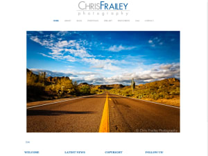 Chris Frailey Photography Website