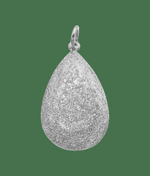 Carolina Bucci Florentine Finish Pear Cut Pendant