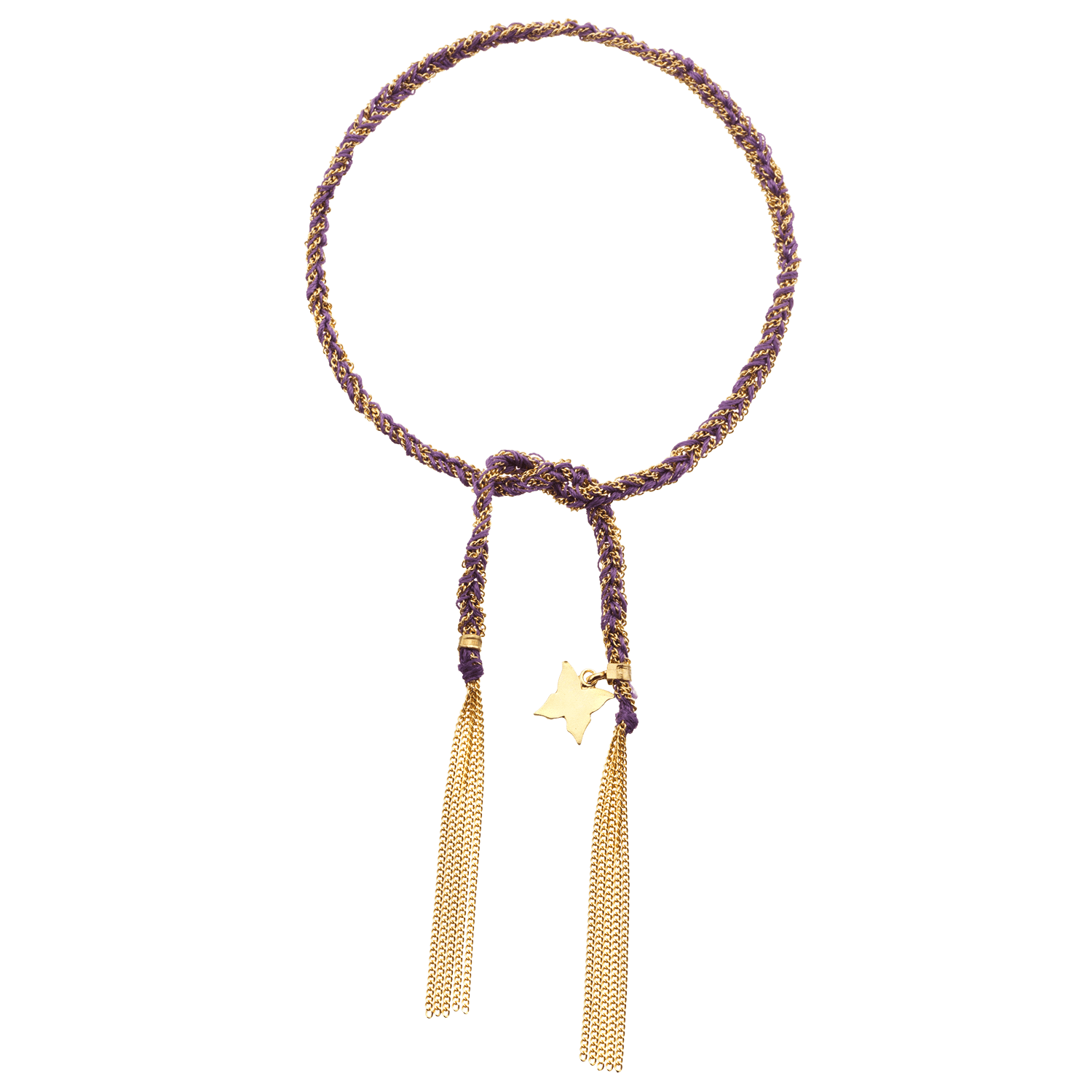 Carolina Bucci Lucky Bracelet with Freedom Charm Yellow Gold