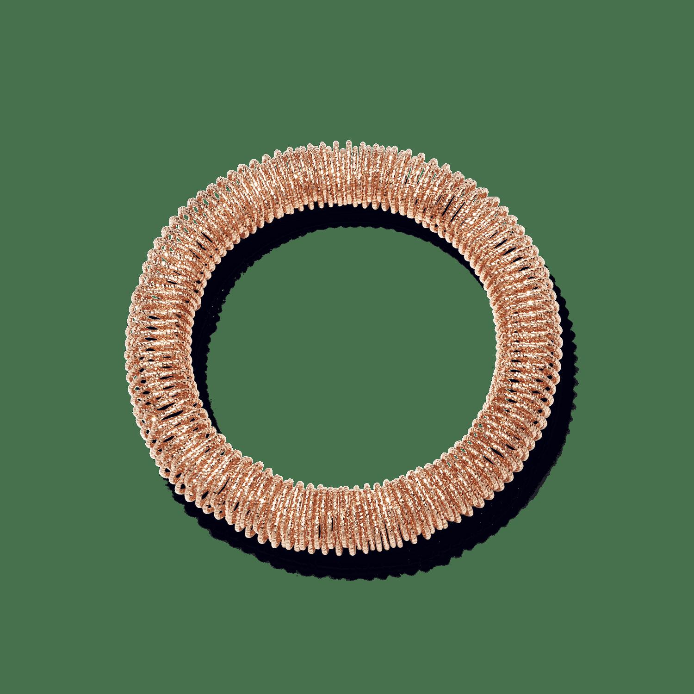 pink gold medium K.I.S.S bracelet