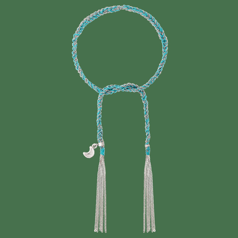 Carolina Bucci Lucky Bracelet with Wisdom Charm White Gold