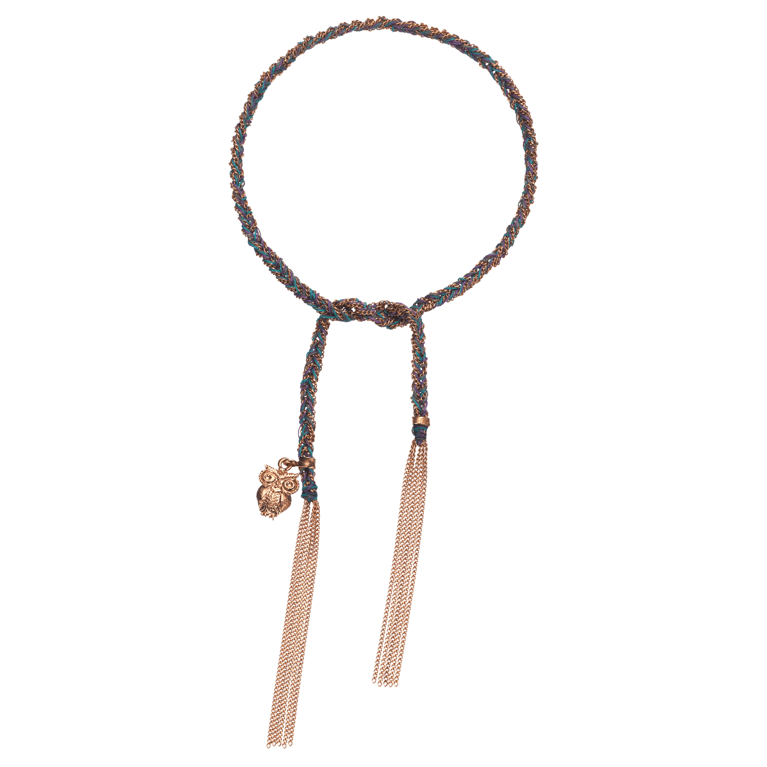 Carolina Bucci Lucky Bracelet with Intuition Charm Pink Gold