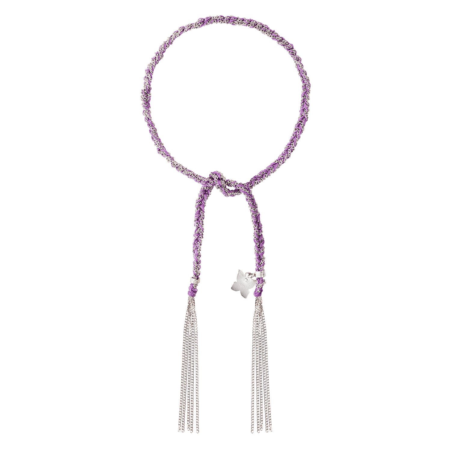 Carolina Bucci Lucky Bracelet with Freedom Charm White Gold