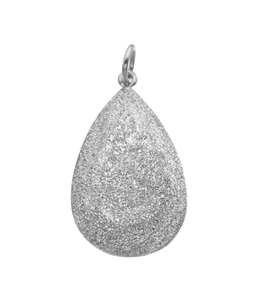 Carolina Bucci Florentine Finish Pear Cut Pendant