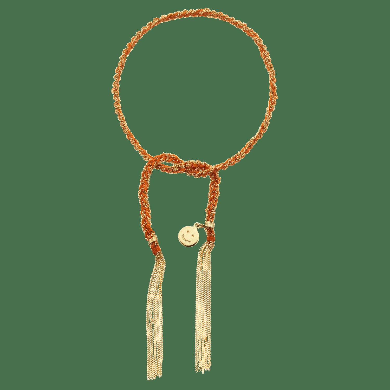 Carolina Bucci Lucky Bracelet with Happiness Charm Yellow Gold