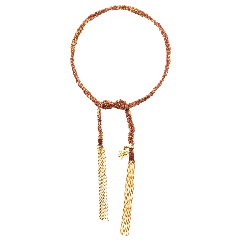 Carolina Bucci Lucky Bracelet with Friendship Charm Yellow Gold