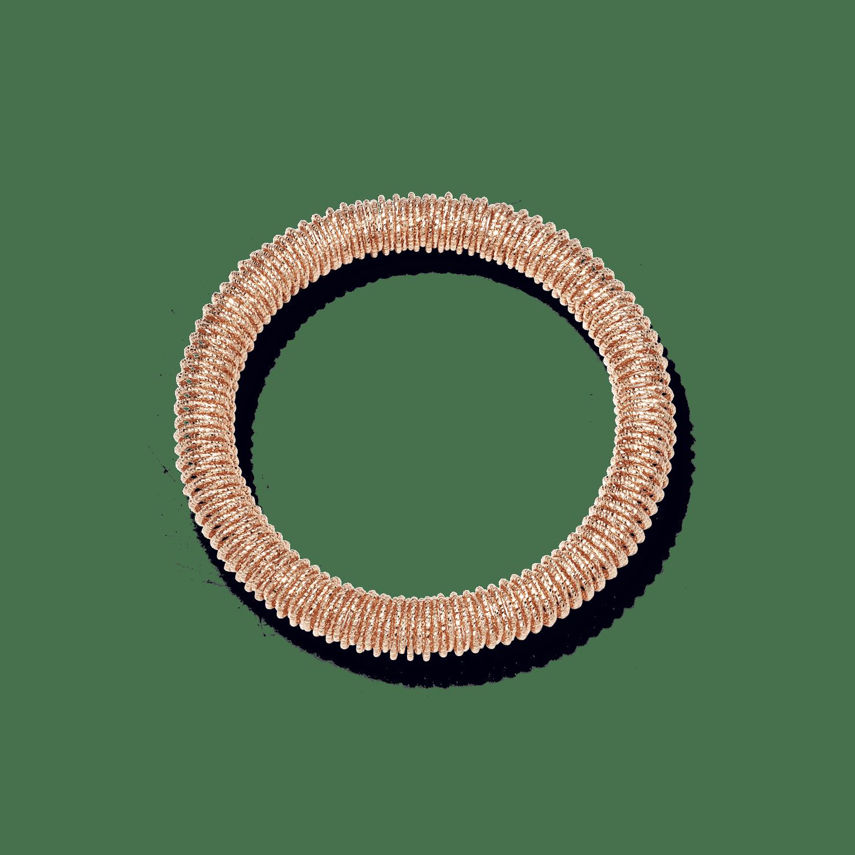 pink gold small K.I.S.S bracelet