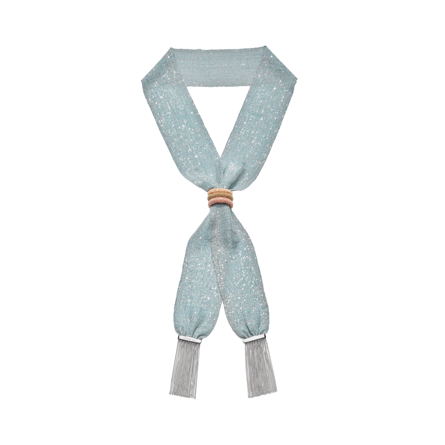 pinched woven scarf