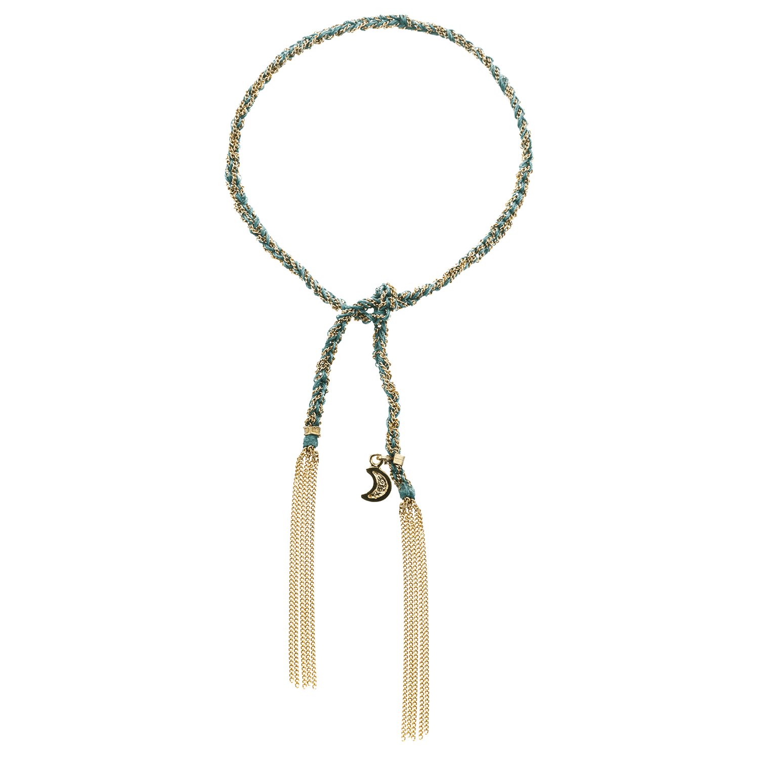 Carolina Bucci Lucky Bracelet with Wisdom Charm Yellow Gold