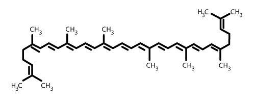 Licopene struttura - Caronte Consulting