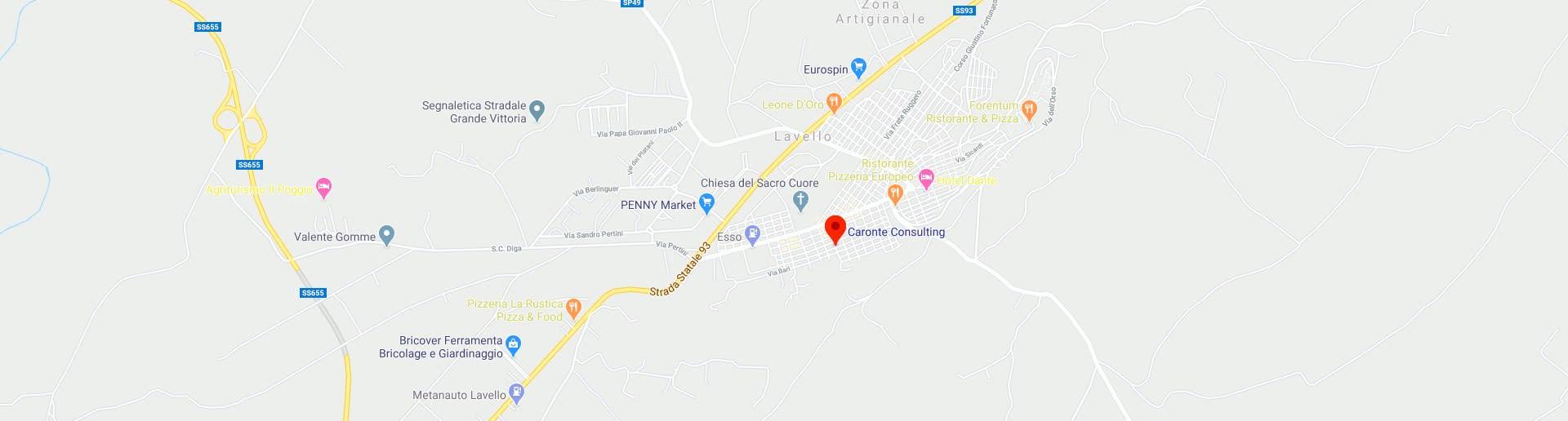 Google Map - Caronte Consulting