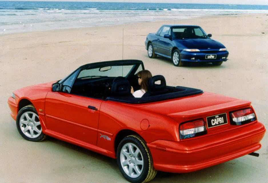 Extrêmement Used Ford Capri review: 1989-1994 | CarsGuide WY59