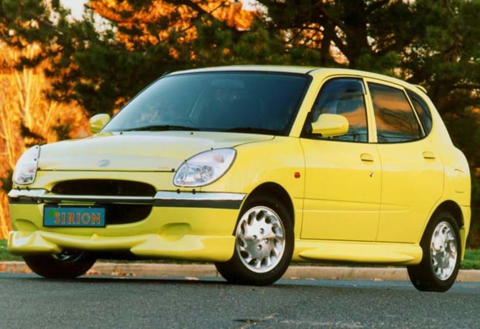 Used Daihatsu Sirion review 19982002 CarsGuide