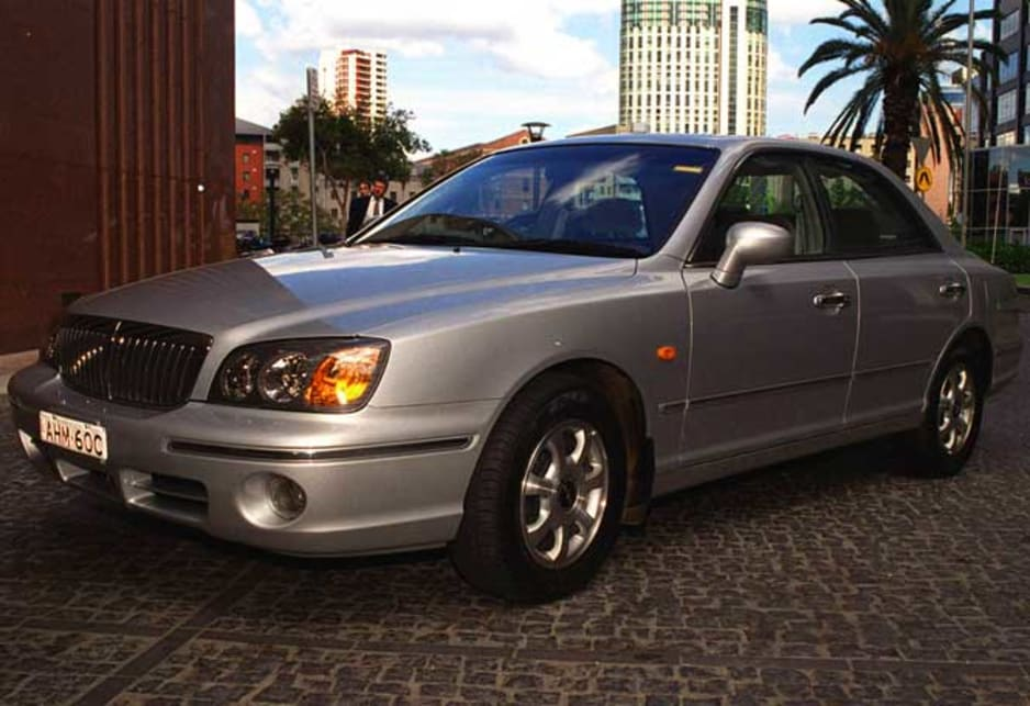 Used Hyundai Grandeur review 19992003 CarsGuide