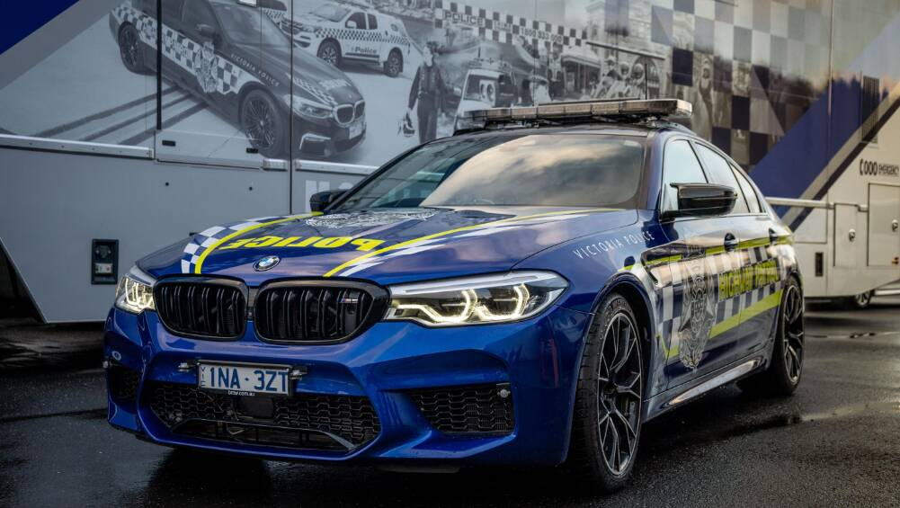 Australia's fastest police car! BMW M5 Competition joins the Highway P
