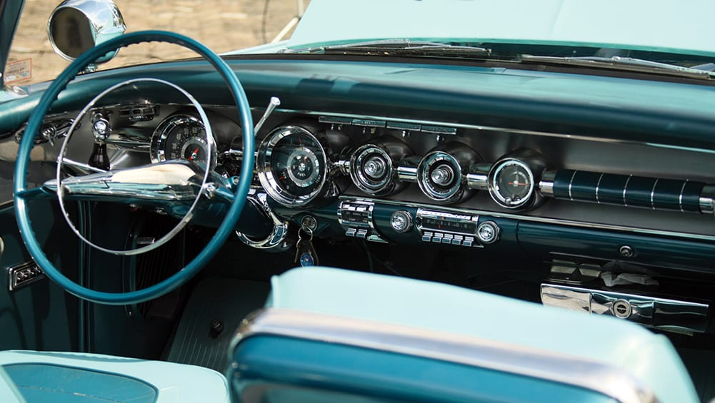 Interior design through the decades: 1950s | CarsGuide - OverSteer