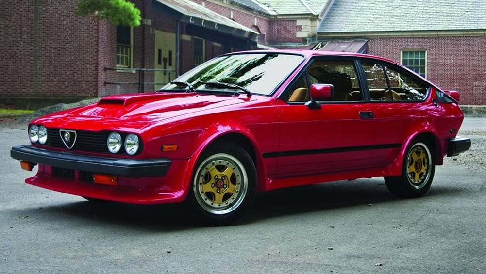 Alfa Romeo Gtv Callaway C Red Coupe Hemmings X