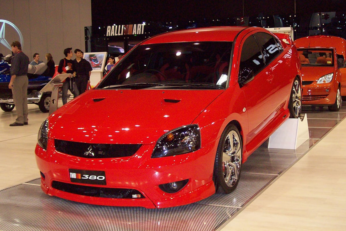 Big Red Wagon >> Remember the 380? Do you recall the supercharged Ralliart ...
