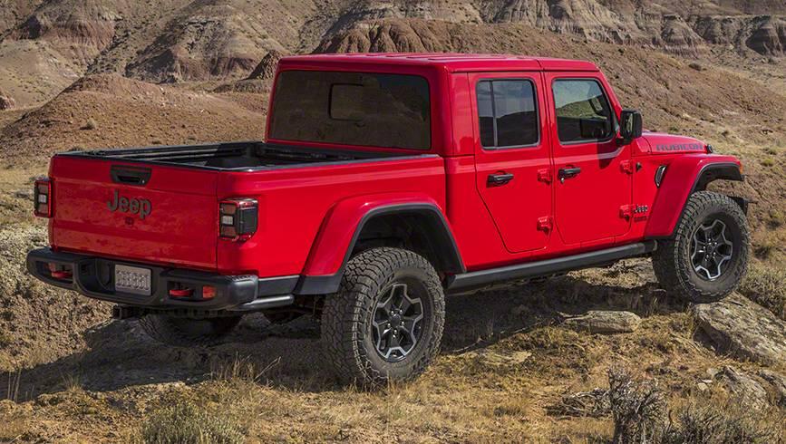 Jeep Gladiator 2020 Revealed Wrangler Ute Officially Unveiled Car